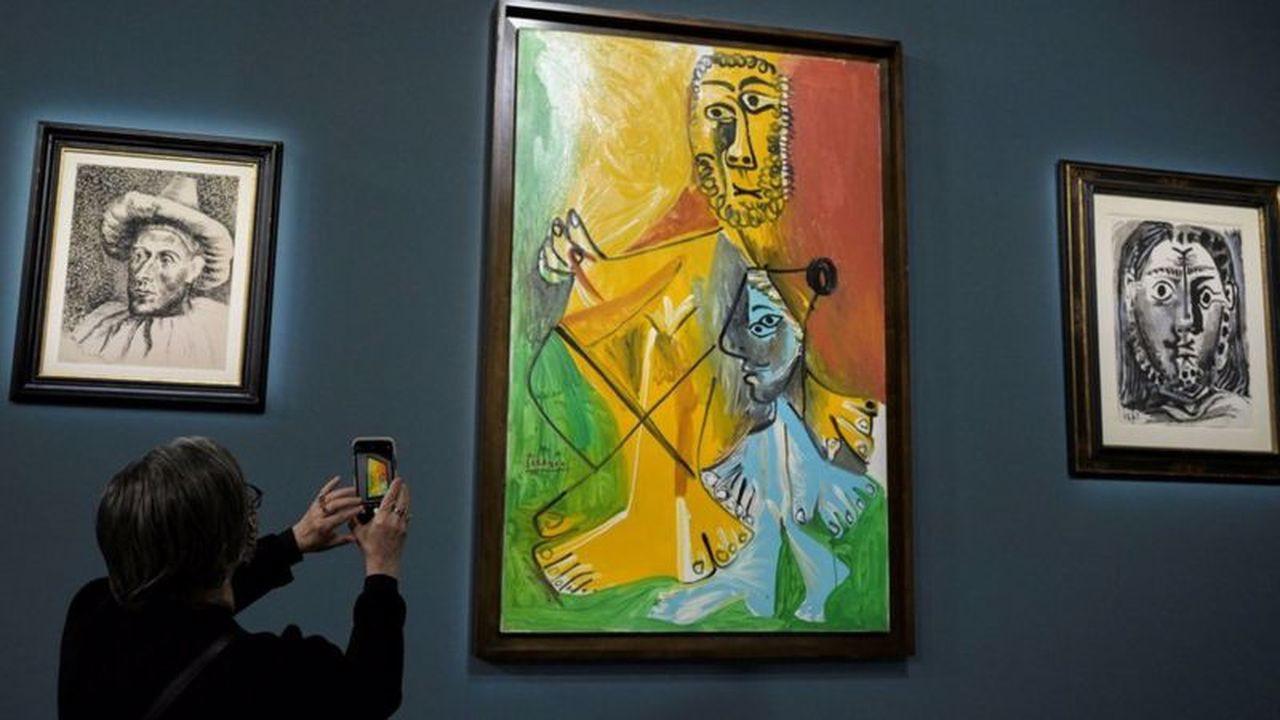 Picasso'nun eserleri Las Vegas'ta yaklaşık 110 milyon dolara satıldı