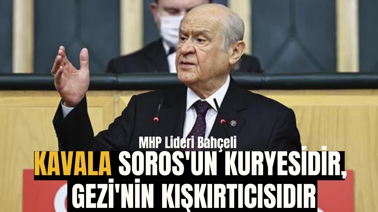 Kavala Soros'un kuryesidir, Gezi'nin kışkırtıcısı