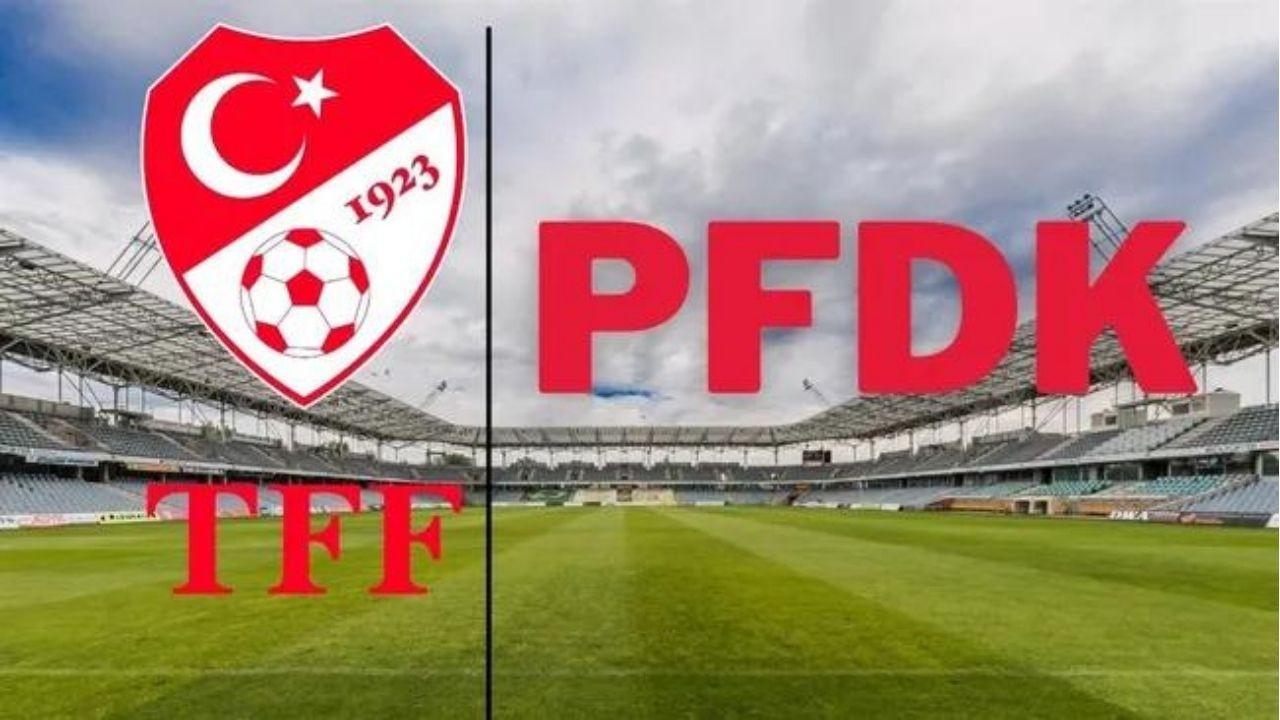 Fenerbahçe, Göztepe ve Sivasspor PFDK'ya sevk edildi