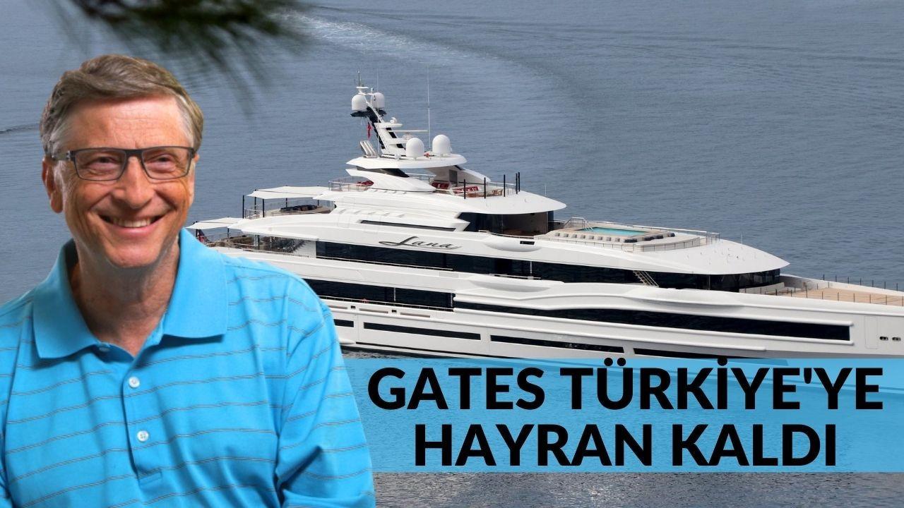 Bill Gates Türkiye'ye hayran kaldı! Gates şimdi de Fethiye'de