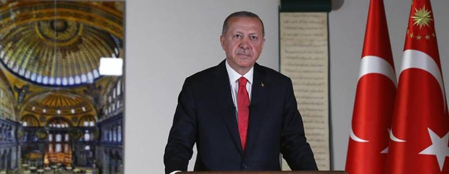 Erdoğan'dan heyecanladıran paylaşım