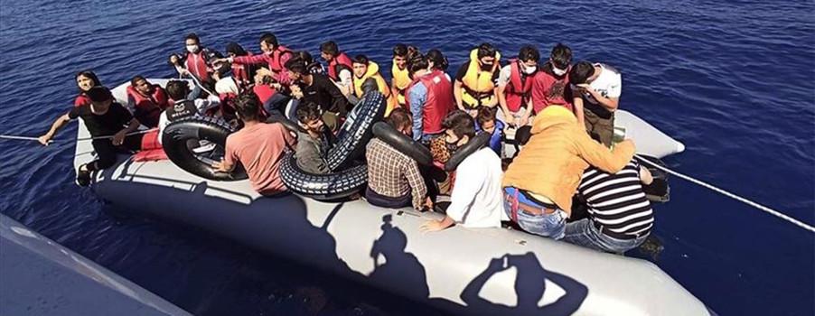 Türk kara sularında göçmen bilançosu