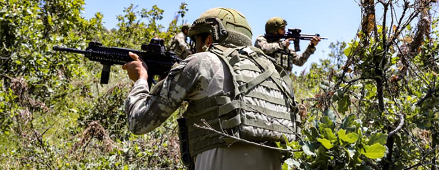 Zap'ta iki PKK'lı etkisiz hale getirildi